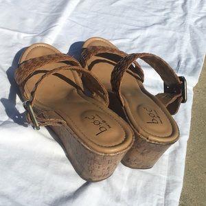 boc Shoes - Beautiful BOC sandal wedges size 9 m
